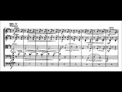 Anton Arensky - Variations on a theme by Tchaikovsky (audio + sheet music)