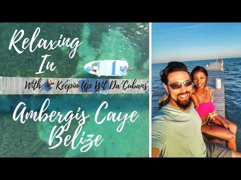 Travel Couple Video On Ambergris Caye, Belize With Yuneec Breeze 4k