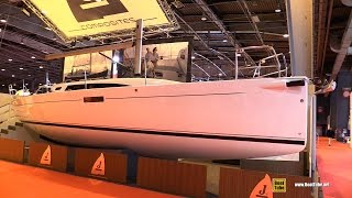 2017 J112e Sailing Yacht - Deck and Interior Walkaround - 2016 Salon Nautique Paris