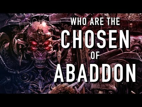40 Facts and Lore on Chosen of Abaddon Warhammer 40K