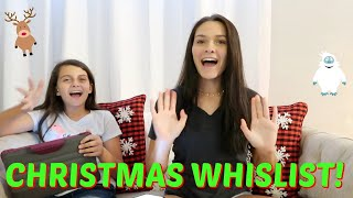 🎄CHRISTMAS WISHLIST 2019! 🎅EMMA AND ELLIE