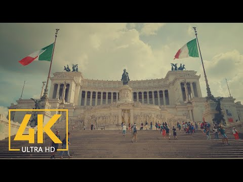 4K ROME, Italy - Documentary Film Cinema Color - Top Europe Destinations: Rome
