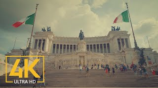 ROME, Italy - 4K Documentary Film Cinema Color - Top Europe Destinations: Rome