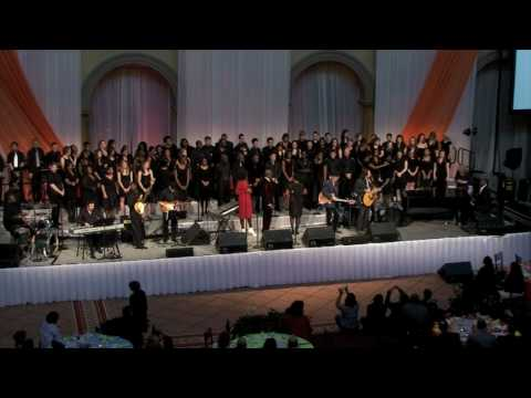 The Dartmouth College Gospel Choir performs in Washington, D.C.
