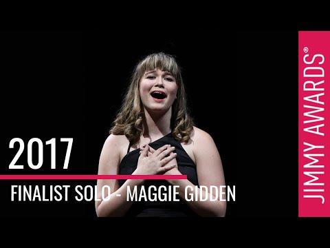 2017 Jimmy Awards Finalist Maggie Gidden