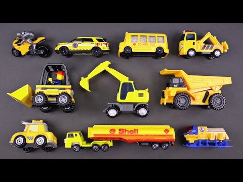 Best Learning Colors with Street Vehicles for Kids #1 Cars Trucks Teach Colors Video for Children
