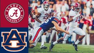 #5 Alabama vs #15 Auburn First Half Highlights | College Football Highlights