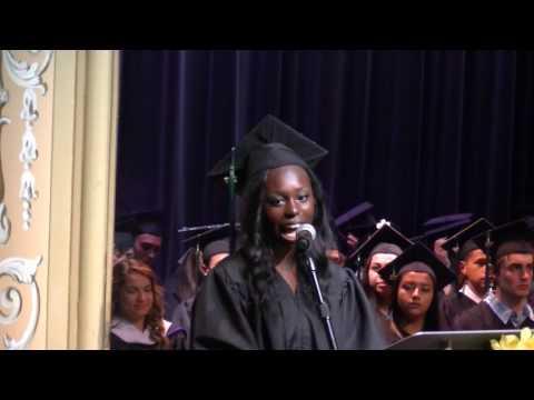 Class of 2017, Everest Public High School Graduation, Student Keynote Address - June 11 2017