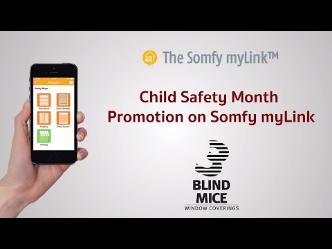 FREE Somfy myLink for Child Safety Month
