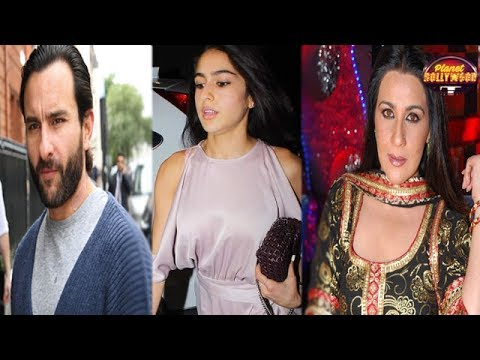 Amrita Singh Loses Her Cool On Saif Ali Khan Over Sara's Debut Comments from YouTube · Duration:  2 minutes 1 seconds