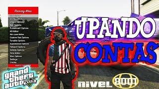 GTA V PC UPANDO CONTA - MOD MENU PC - CONTA DE CLIENTE-