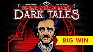 MEGA PROGRESSIVE! Edgar Allen Poe's Dark Tales Slot - THE HEART, I LOVE IT!
