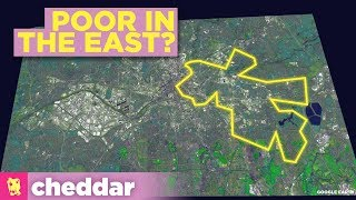 Why The East Sides of Cities Are Poorer Than The West - Cheddar Explains