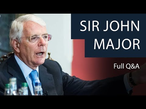 Sir John Major | Full Q&A | Oxford Union