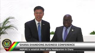 Ghana-Shandong Business Conference