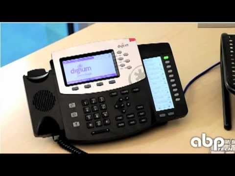 Live Look at the Digium IP Phone models D40, D50 and D70 for Switchvox