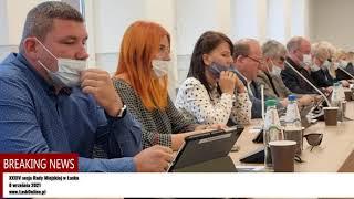 XXXIV sesja Rady Miejskiej w Łasku