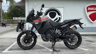 2018 KTM 1290 Super Adventure S in Black Walk Around Video Available At Euro Cycles of Tampa Bay