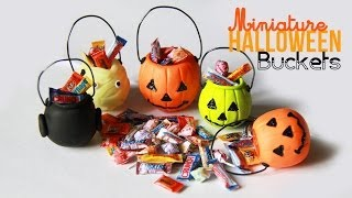Halloween Bucket Charms - Miniature Candy with Polymer Clay Thumbnail