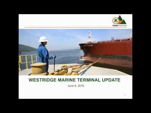 Westridge Marine Terminal Update
