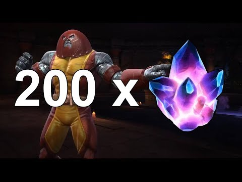 200 Alliance Crystal Opening!!! Marvel Contest of Champions