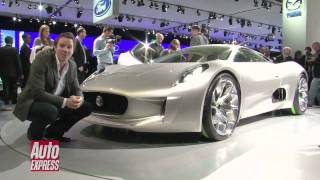 Jaguar CX 75 Concept at the Paris Motorshow 2010 - Auto Express