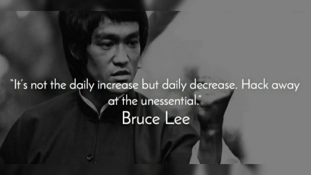 Motivation Quotes Fitness Motivation Brucelee The Legend Youtube
