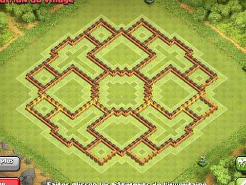 *NEW UPDATE* EPIC TH10 Farming Base ! 275 WALLS ! Clash Of Clans | New September 2015 Update