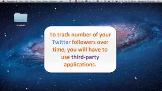 How to Track Twitter Followers Over Time