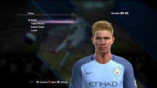 PES 2013• KEVIN DE BRUYNE • NEW FACE & HAIR 2017 •