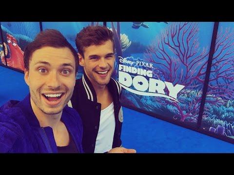 FINDING DORY PREMIÈRE! | Rutger & Thomas Vlog