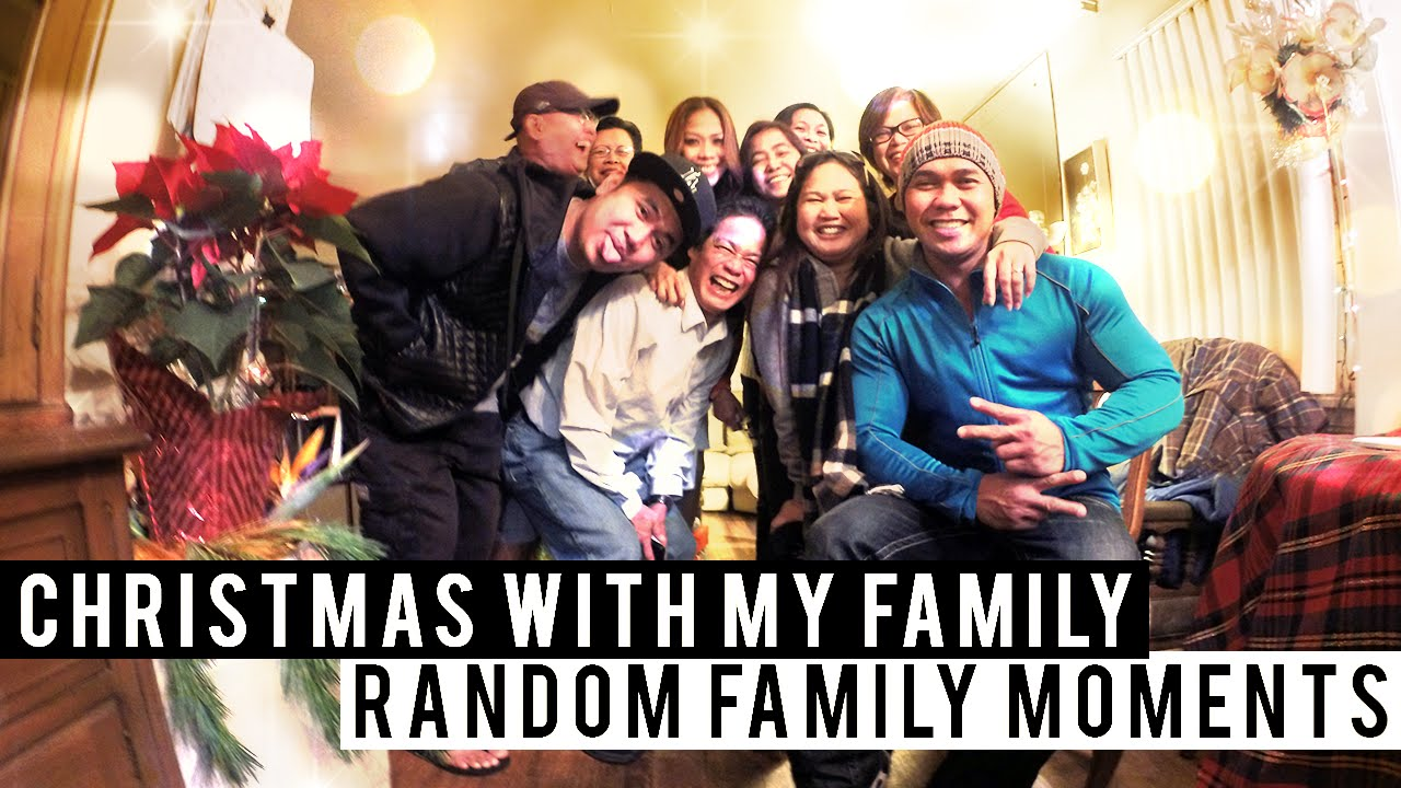 CHRISTMAS WITH MY FILIPINO FAMILY