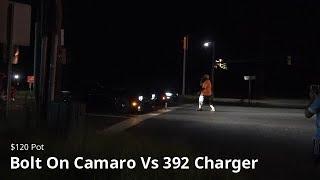 East Coast Street Racing Camaro Vs 392 Charger!!