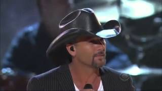 Brooks and Dunn the last rodeo (Tim McGraw)