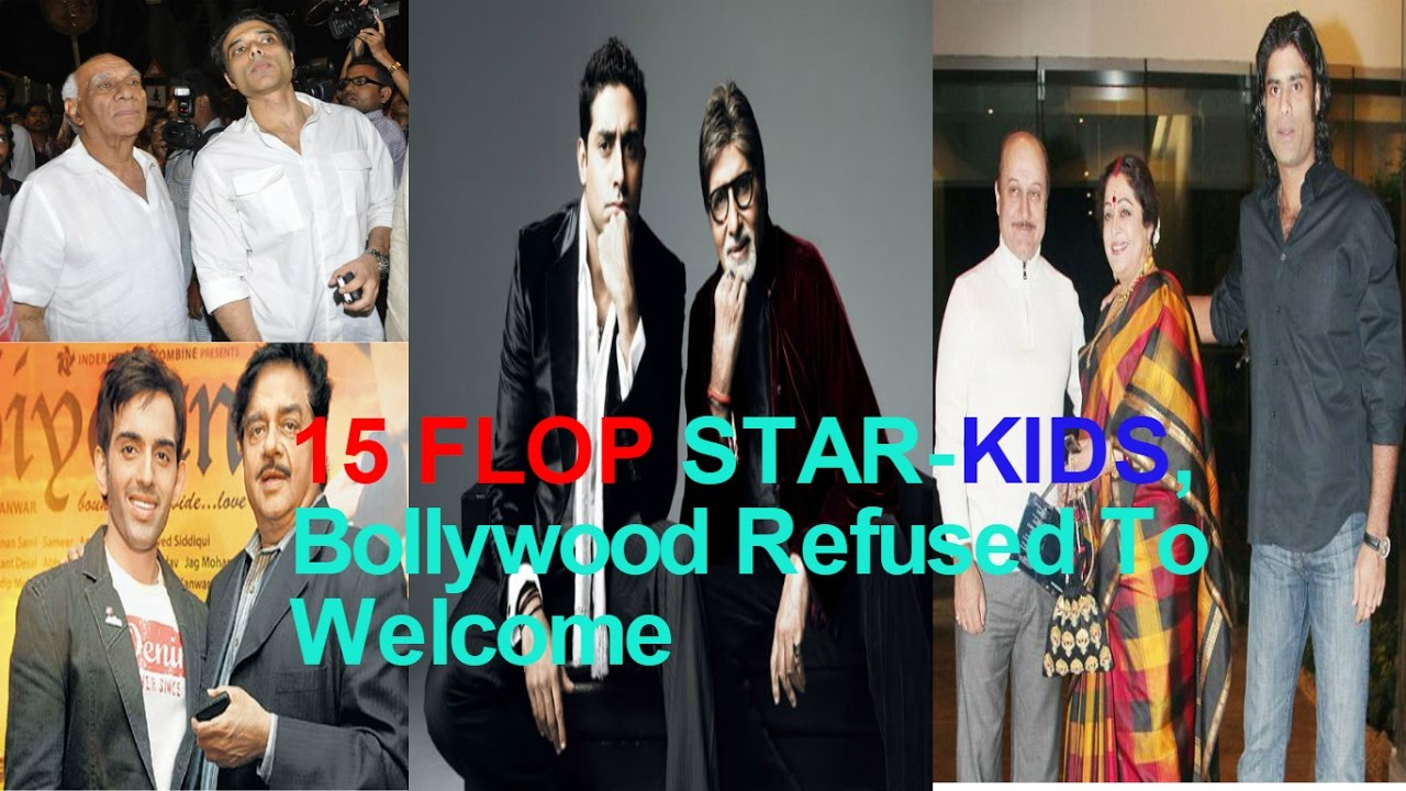 Download 15 FLOP STAR-KIDS Bollywood Refused To Welcome