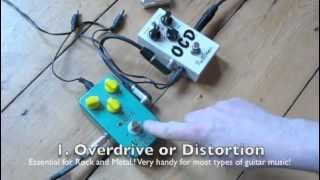 Beginners Guide to Guitar Effects  FX Pedals