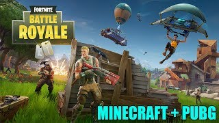 MINECRAFT + PUBG-FREE GAME (FORTNITE)