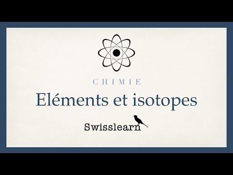 Eléments et isotopes