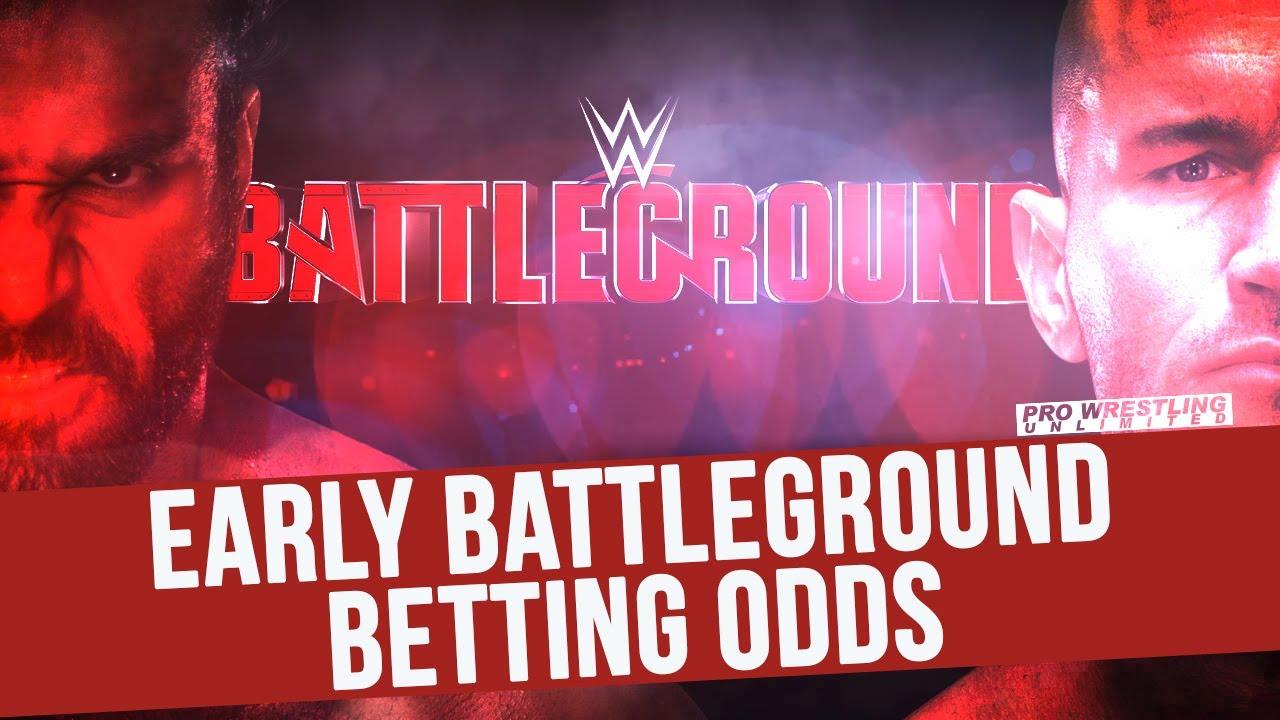 Wwe battleground betting odds live betting fonbet