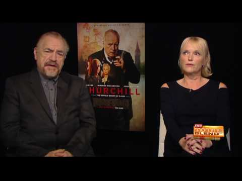 Brian Cox and Miranda Richardson talk about their new movie