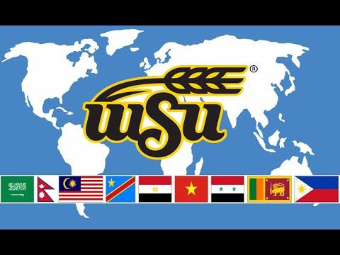 International students at Wichita State University