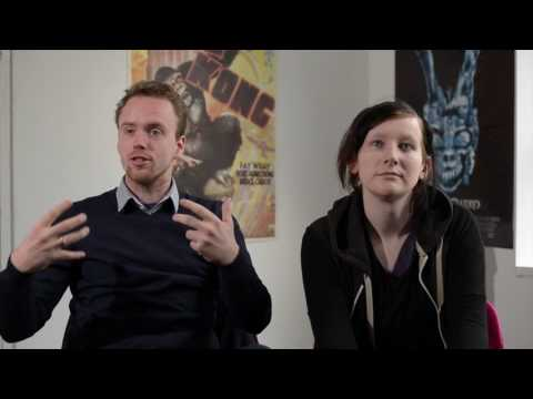 Reel Talk   Interview with Zoe Kavanagh and Victor McGowan for 'Demon Hunter'
