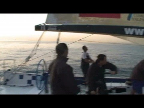 Volvo Ocean Race: Telefonica Blue Steering Problems