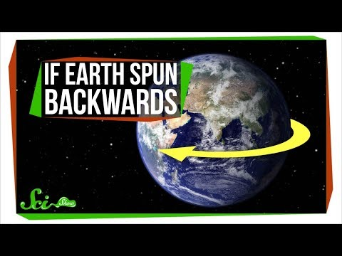 What If Earth Spun the Other Way?