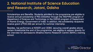 Study Bachelors and Integrated Masters Programmes in Science in India with Monthly stipend