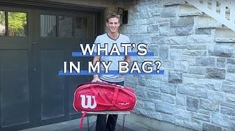 What's in my Tennis Bag? [w/ VASEK POSPISIL]