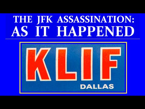 JFK'S ASSASSINATION (KLIF-RADIO IN DALLAS)(NOVEMBER 22, 1963)