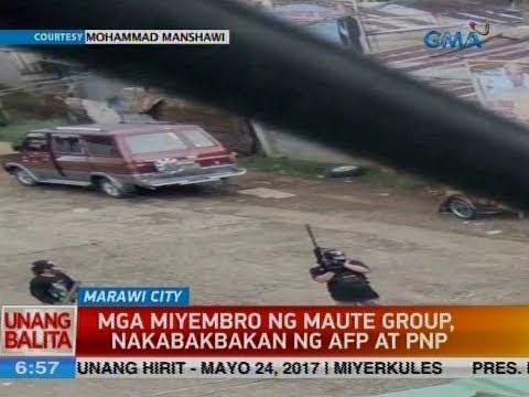 UB: Mga miyembro ng Maute group, nakabakbakan ng AFP at PNP