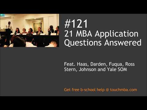 21 MBA Application Questions Answered