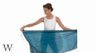 How To Tie Scarves Scarf Pashmina